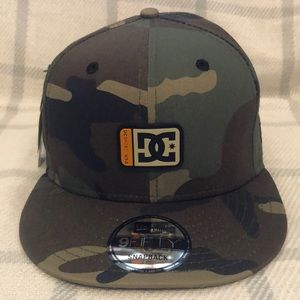 New Era DC Shoe Company Tribeka Snapback Camo Hat
